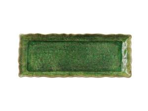 Bilde av Sthål - avlangt fat, Seaweed