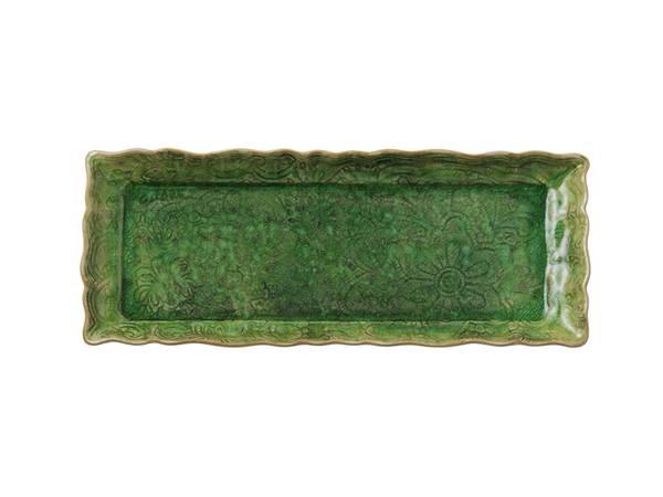 Sthål - avlangt fat, Seaweed
