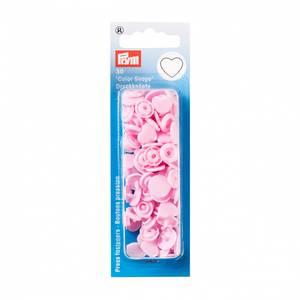 Bilde av Prym trykknapp - lys rosa hjerte