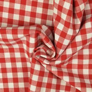 Bilde av Bomull - Rød rutete