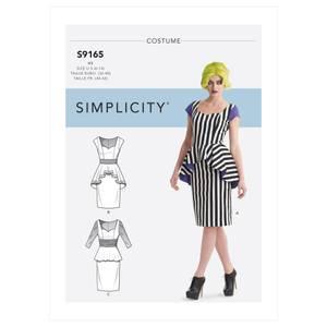 Bilde av Simplicity S9165 Kostyme kjole