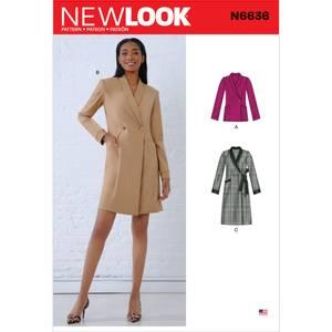 Bilde av New Look N6636 Kjole og jakke