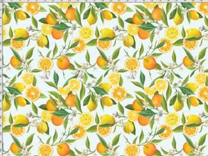 Bilde av Jersey -  sitron og appelsin på mint bakgrunn