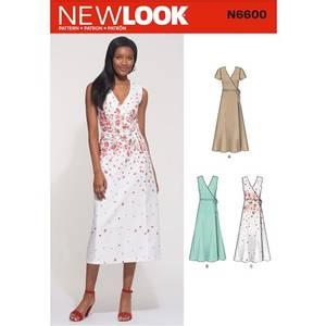 Bilde av New Look N6600 Omslagskjole