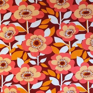 Bilde av Jersey - Retro blomster