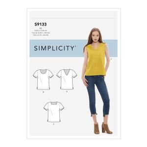 Bilde av Simplicity S9133 Topp