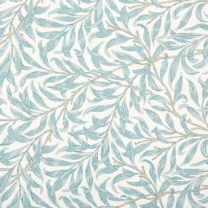 Bilde av Ramas bladmønster - turkis og naturhvit