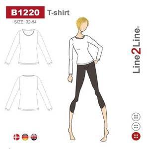 Bilde av Line2Line B1220 T-shirt