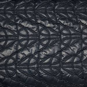 Bilde av Vattert boblestoff, mørk blå