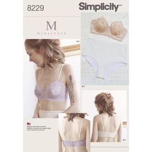 Bilde av Simplicity 8229 undertøy sett