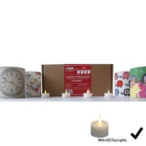 Bilde av Lampeskjerm materialpakke  4 stk