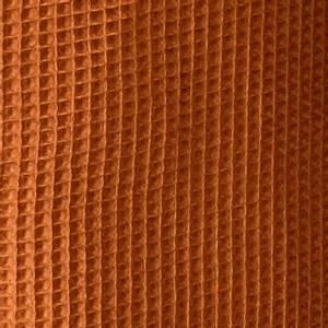 Bilde av Vaffelstoff - brent oransj
