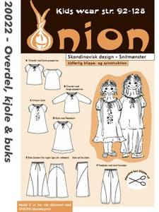 Bilde av Onion 20022 Overdel, kjole og bukse