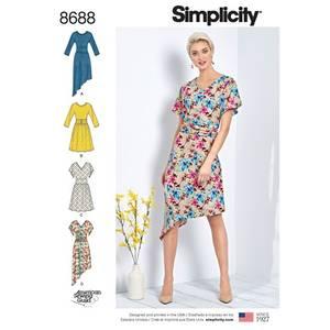 Bilde av Simplicity 8688 kjole